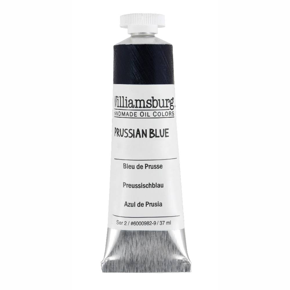 Williamsburg Oil 37Ml Prussian Blue