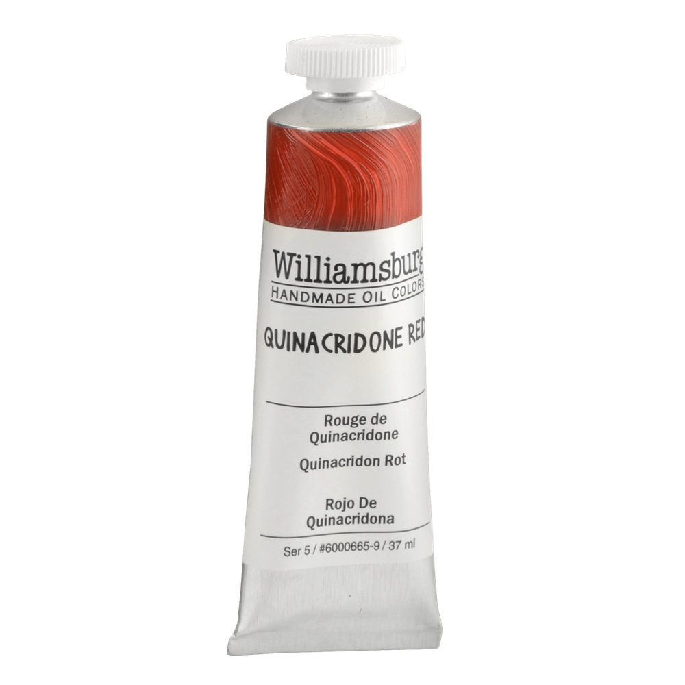 Williamsburg Oil 37Ml Quinacridone Red