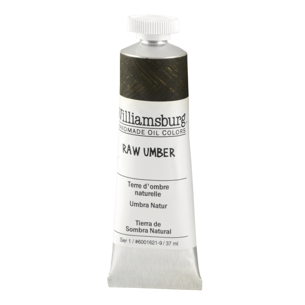 Williamsburg Oil 37Ml Raw Umber