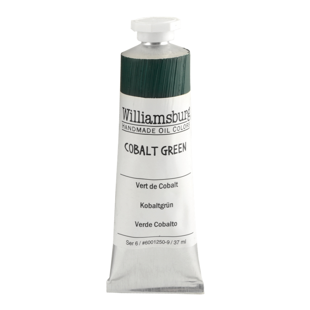 Williamsburg Oil 37Ml Cobalt Green