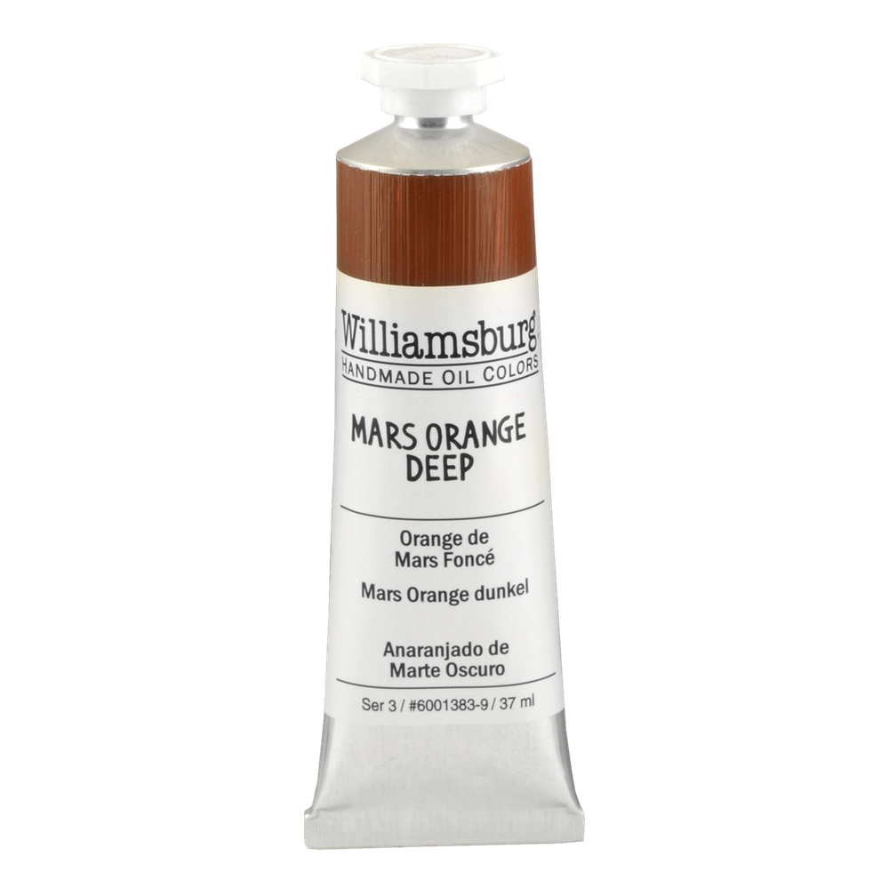 Williamsburg Oil 37Ml Mars Orange Deep