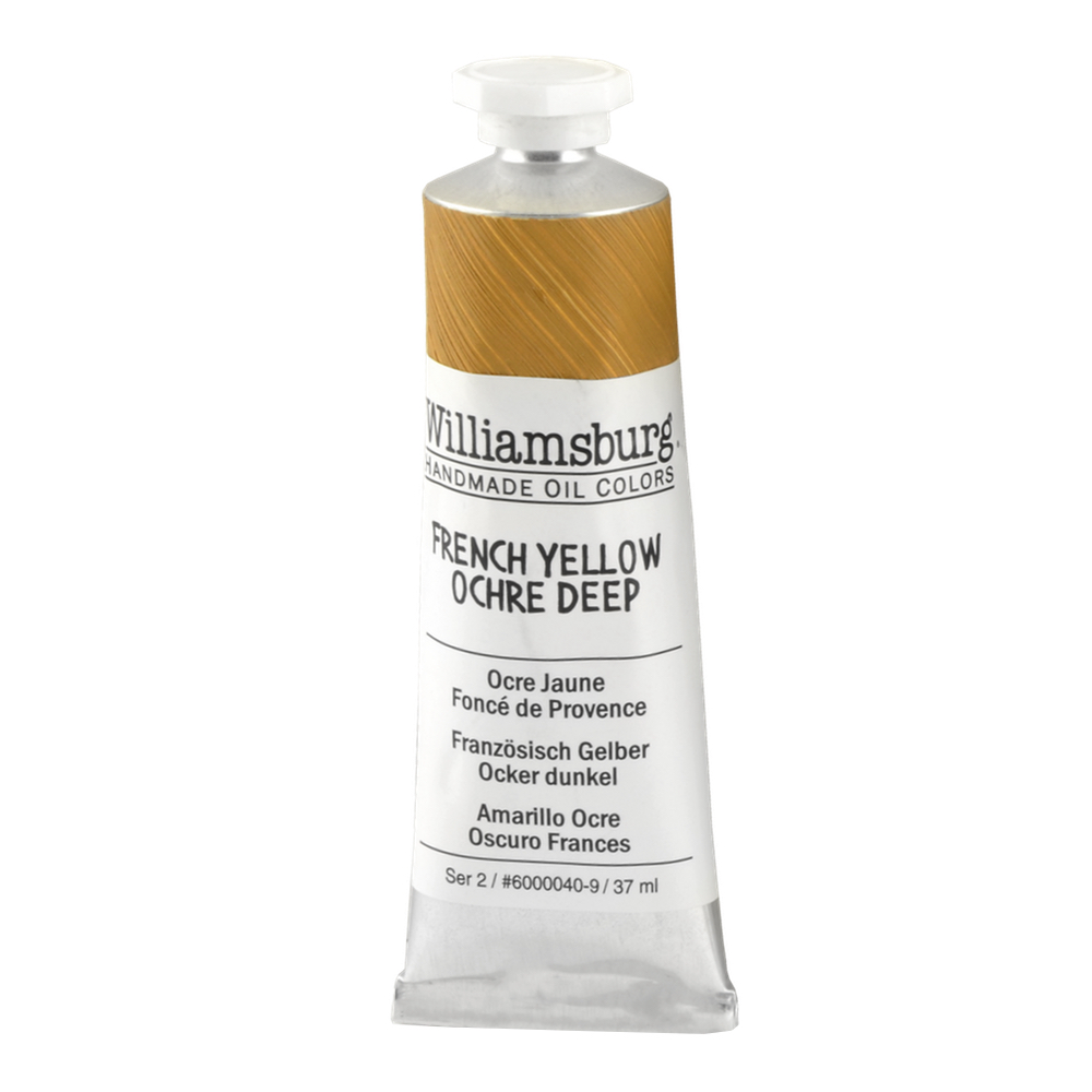 Williamsburg Oil 37Ml Fn Yellow Ochre Dp
