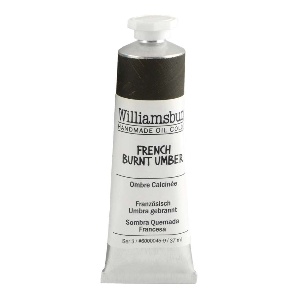 Williamsburg Oil 37Ml French Burnt Umber