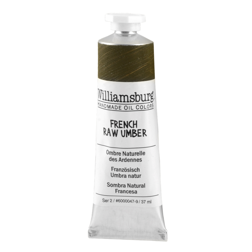 Williamsburg Oil 37Ml French Raw Umber