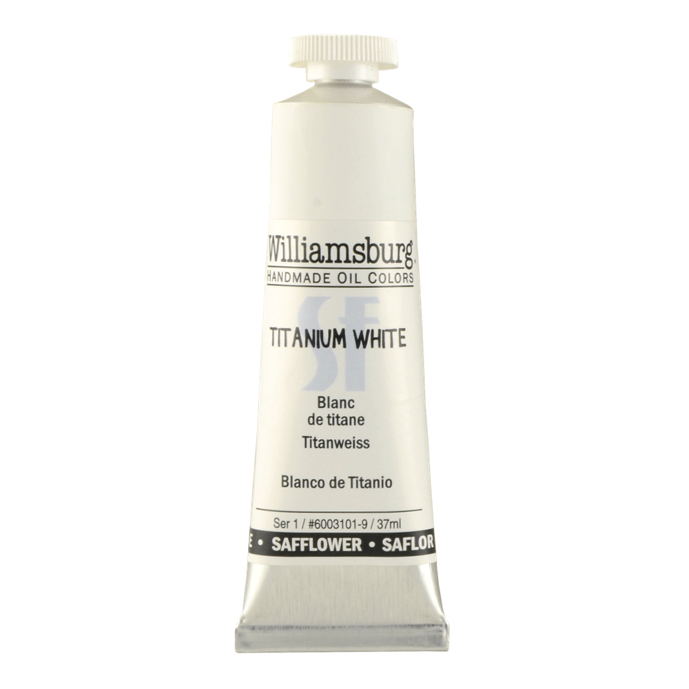 Williamsburg Oil 37Ml Titanium White