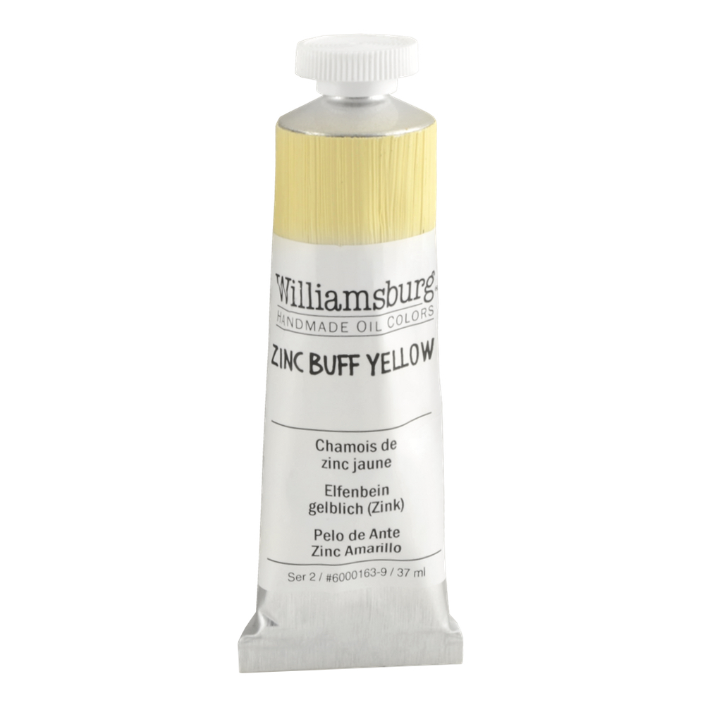 Williamsburg Oil 37Ml Zinc Buff Yellow