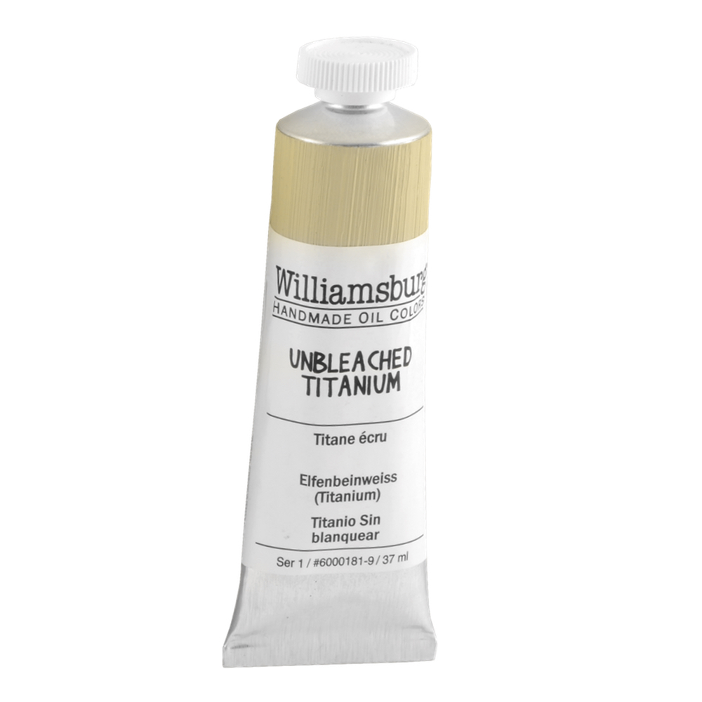 Williamsburg Oil 37Ml Unbleached Titanium