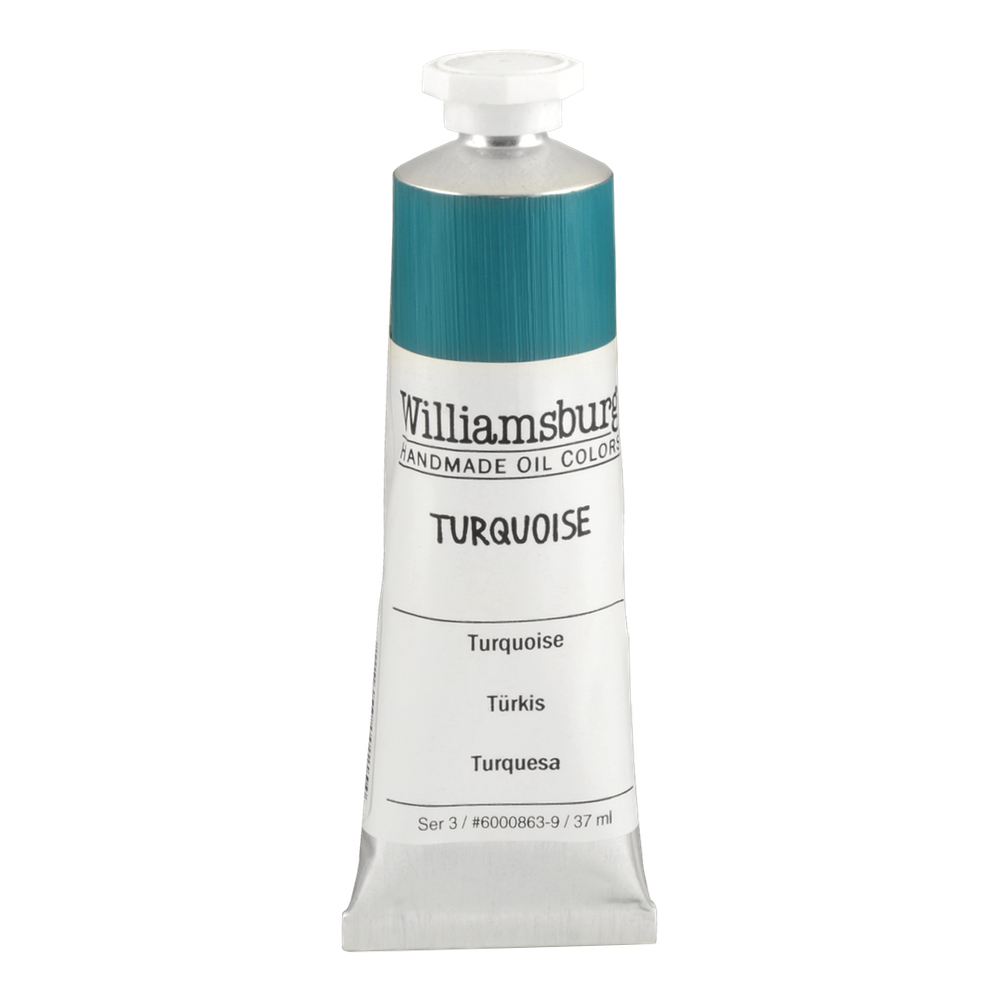 Williamsburg Oil 37Ml Turquoise
