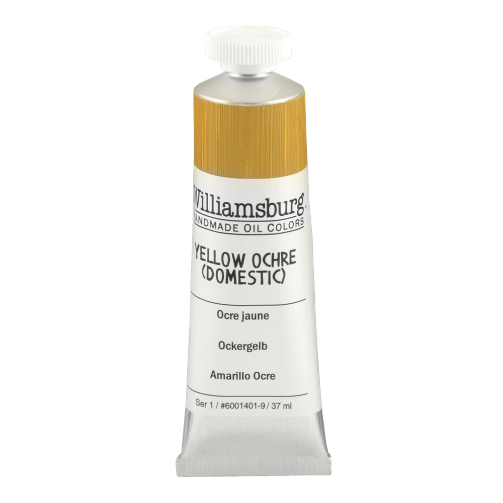 Williamsburg Oil 37Ml Yellow Ochre Domestic