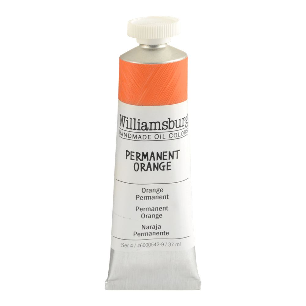 Williamsburg Oil 37Ml Permanent Orange
