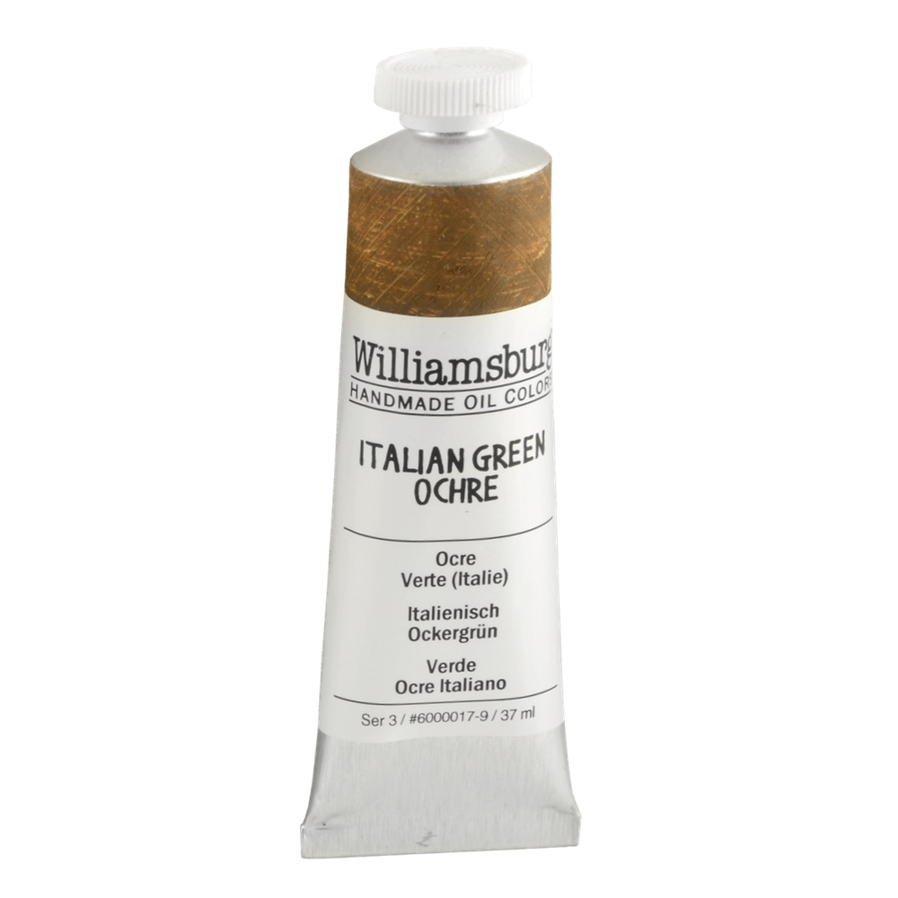 Williamsburg Oil 37Ml Italian Green Ochre