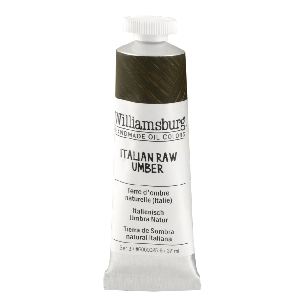 Williamsburg Oil 37Ml Italian Raw Umber