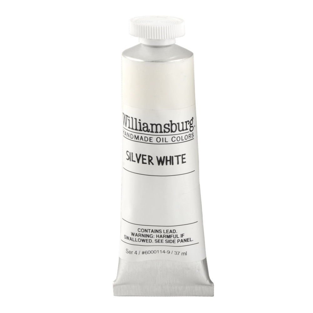 Williamsburg Oil 37Ml Silver White