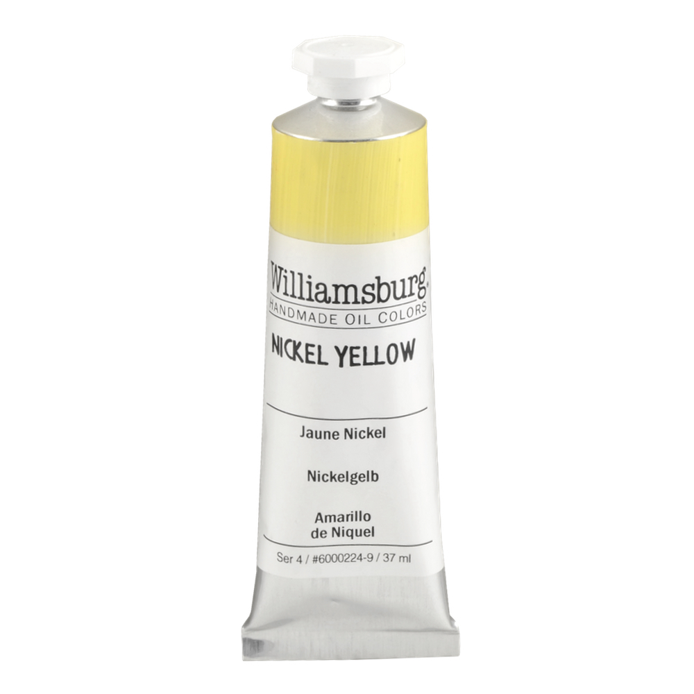 Williamsburg Oil 37Ml Nickel Yellow