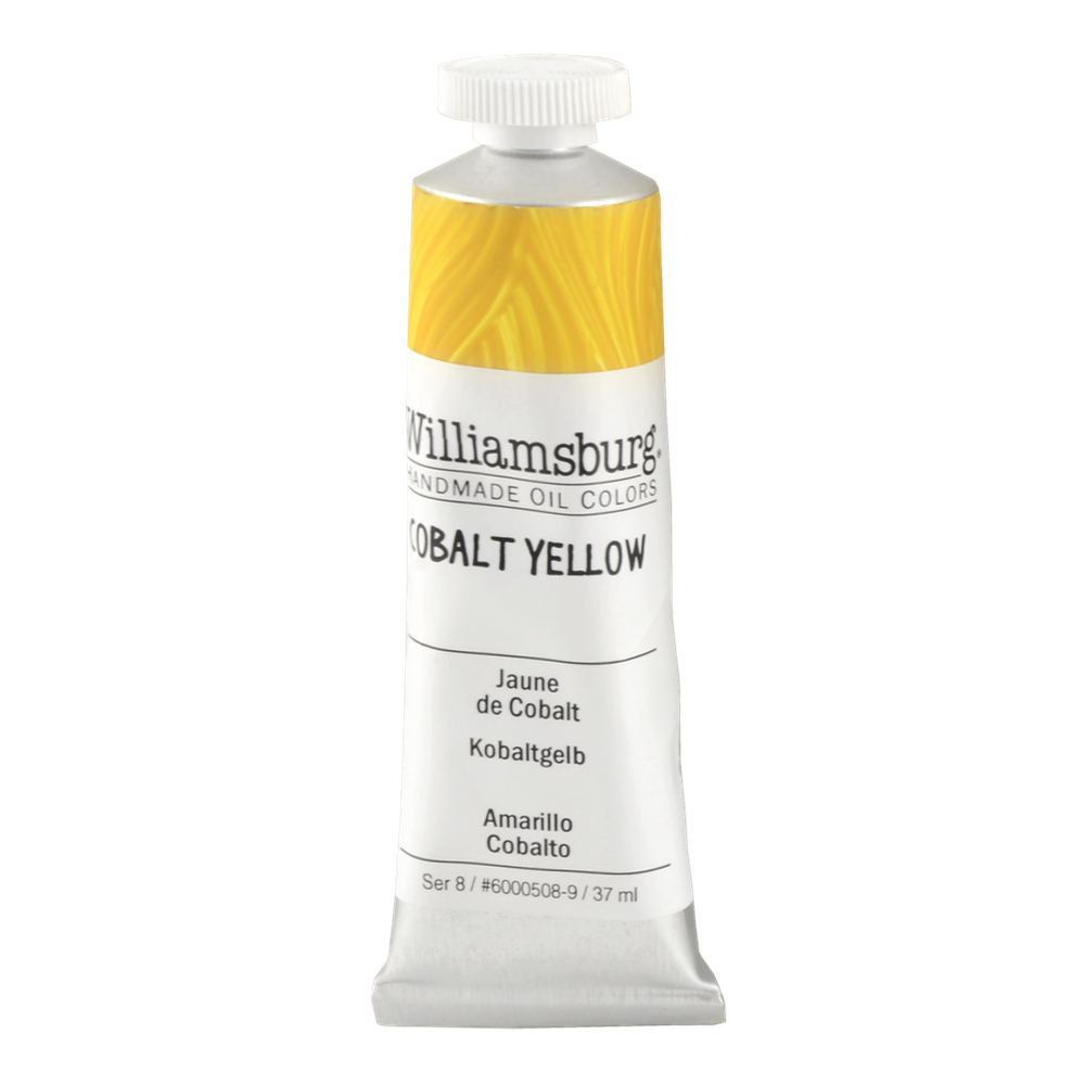 Williamsburg Oil 37Ml Cobalt Yellow