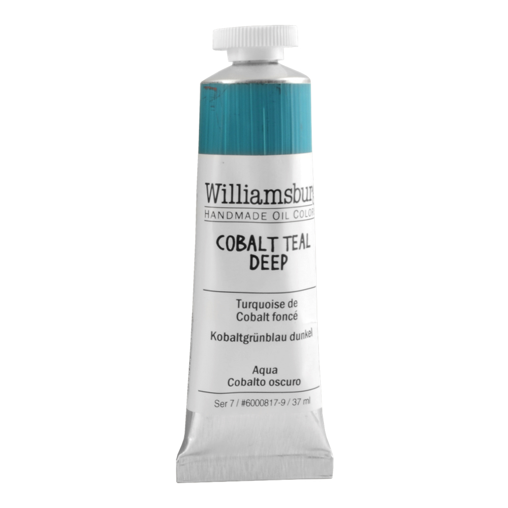 Williamsburg Oil 37Ml Cobalt Teal Bluish