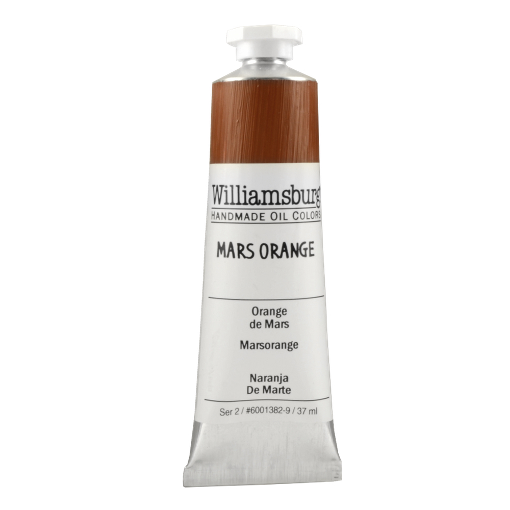 Williamsburg Oil 37Ml Mars Orange