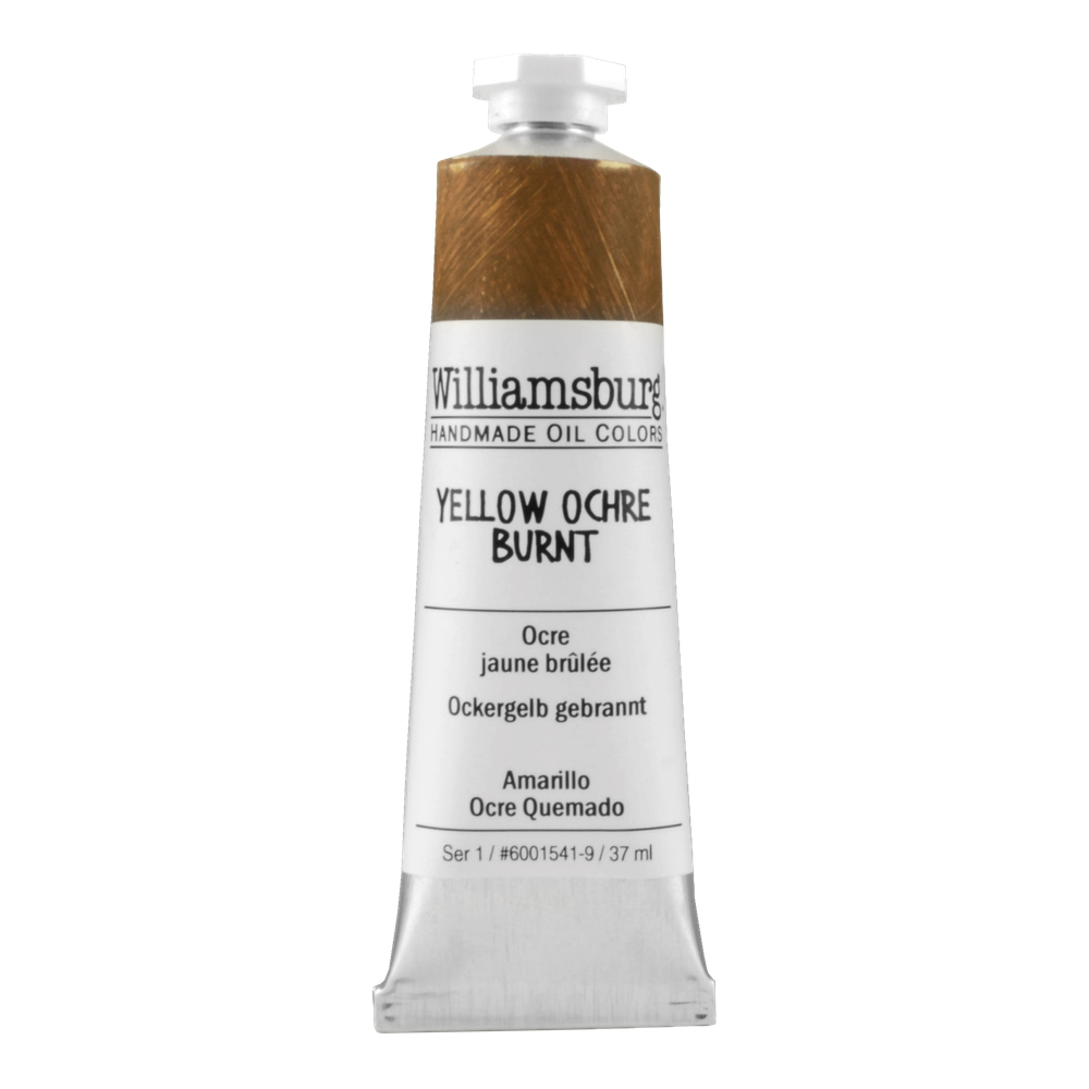 Williamsburg Oil 37Ml Yel Ochre Burnt