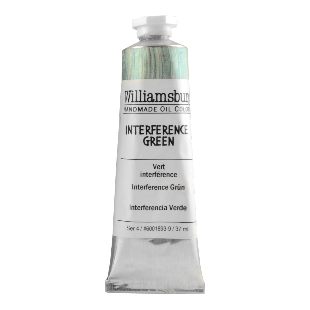 Williamsburg Oil 37Ml Interfer Green