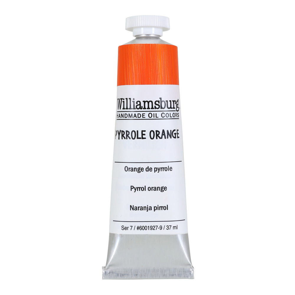 Williamsburg Oil 37Ml Pyrrole Orange