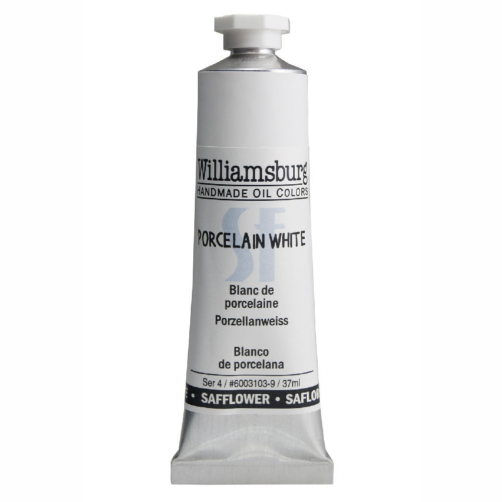 William Oil Safflower 37Ml Porcelain White