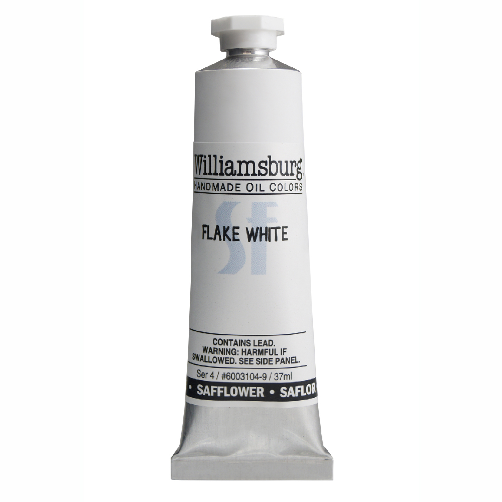 William Oil Safflower 37Ml Flake White