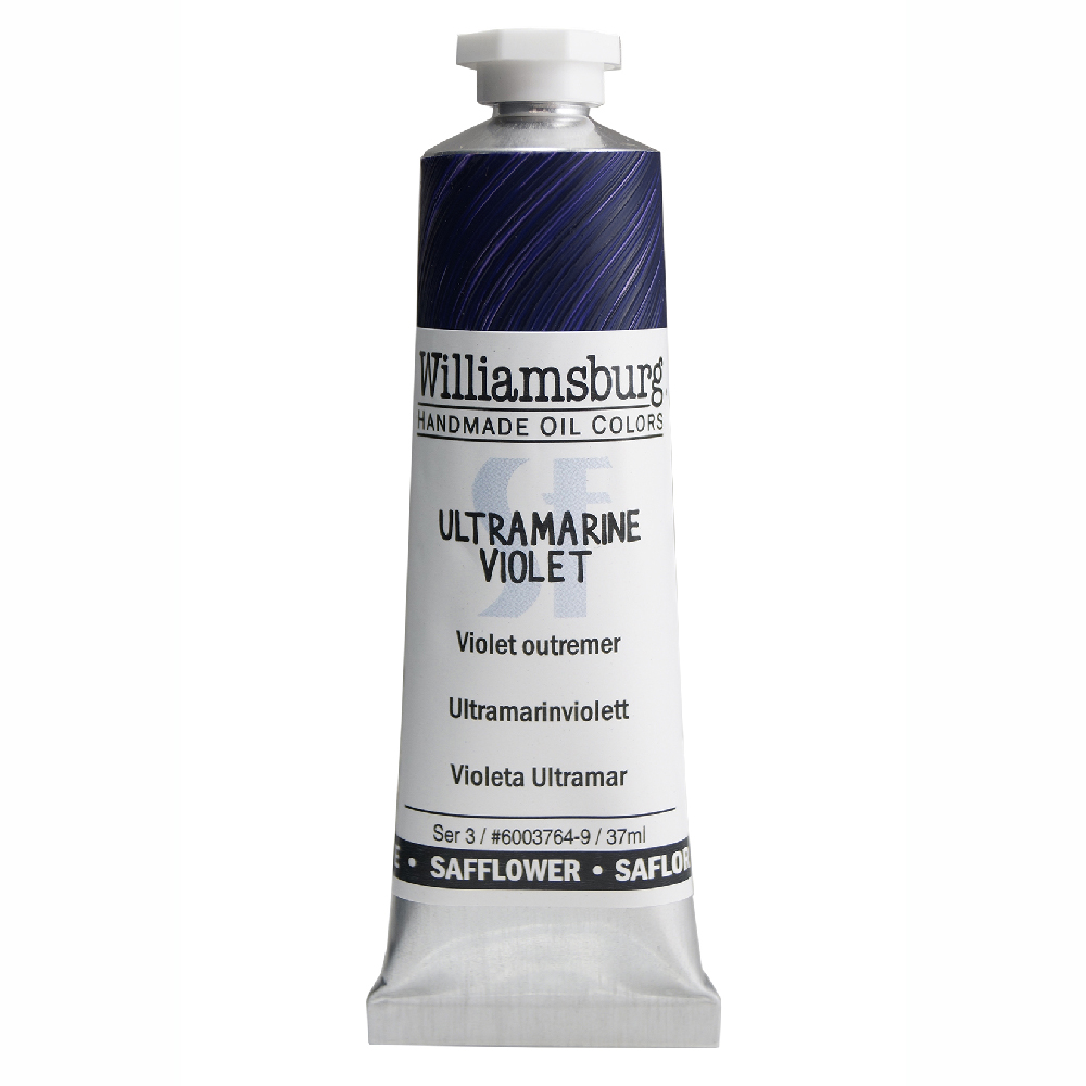 William Oil Safflower 37Ml Ultramarine Violet