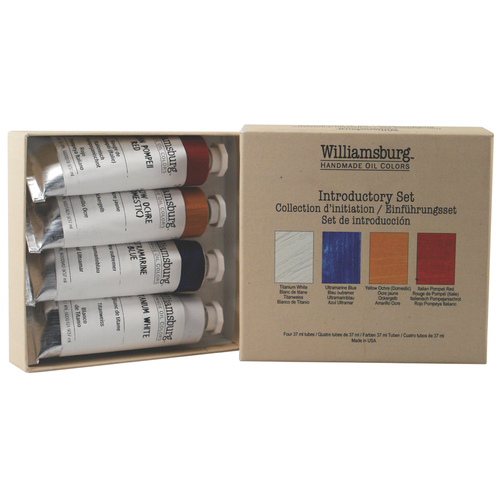 Williamsburg Oil Intro Set 4 Colors