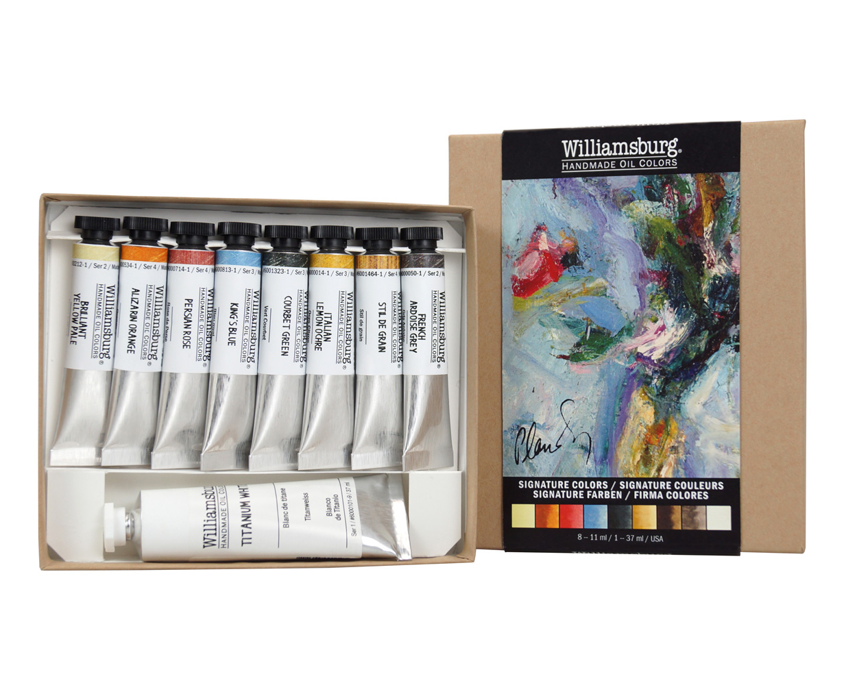 Williamsburg Oil Signature Colors Set