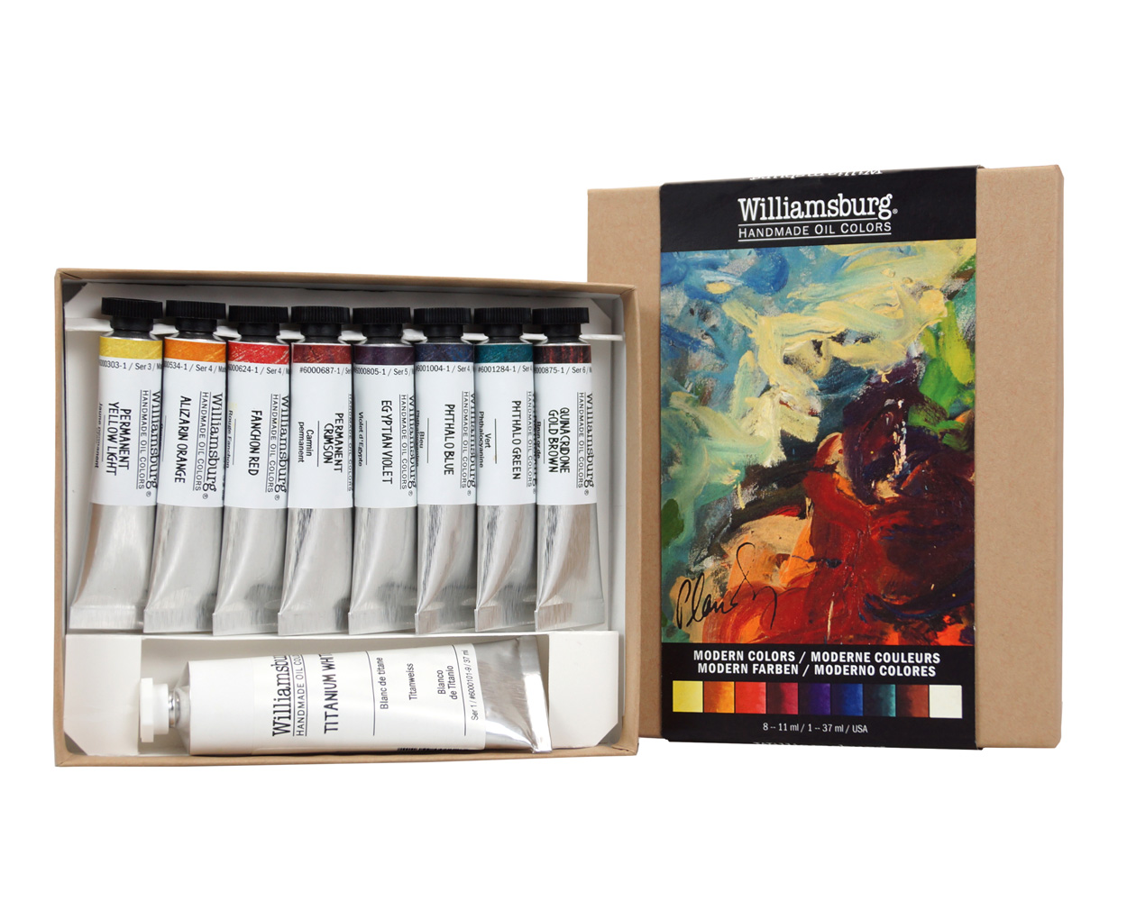 Williamsburg Oil Modern Colors Set