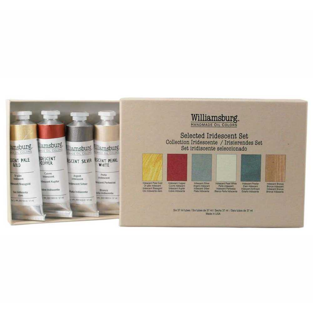 Williamsburg Oil Iridescents Set Of 6