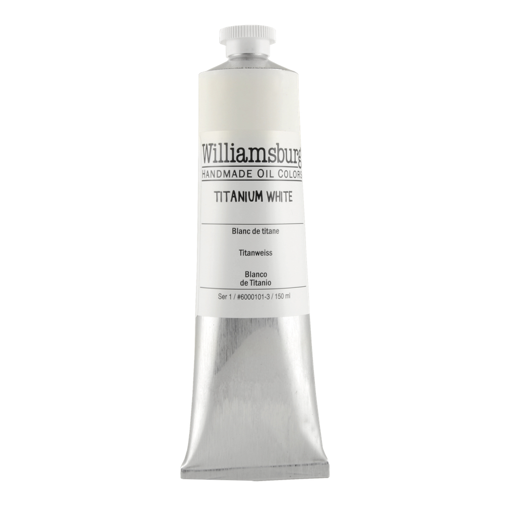 Williamsburg Oil 150Ml Titanium White