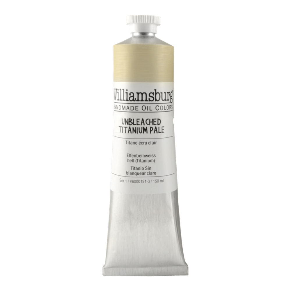 Williamsburg Oil 150Ml Unbleached Titanium Pl