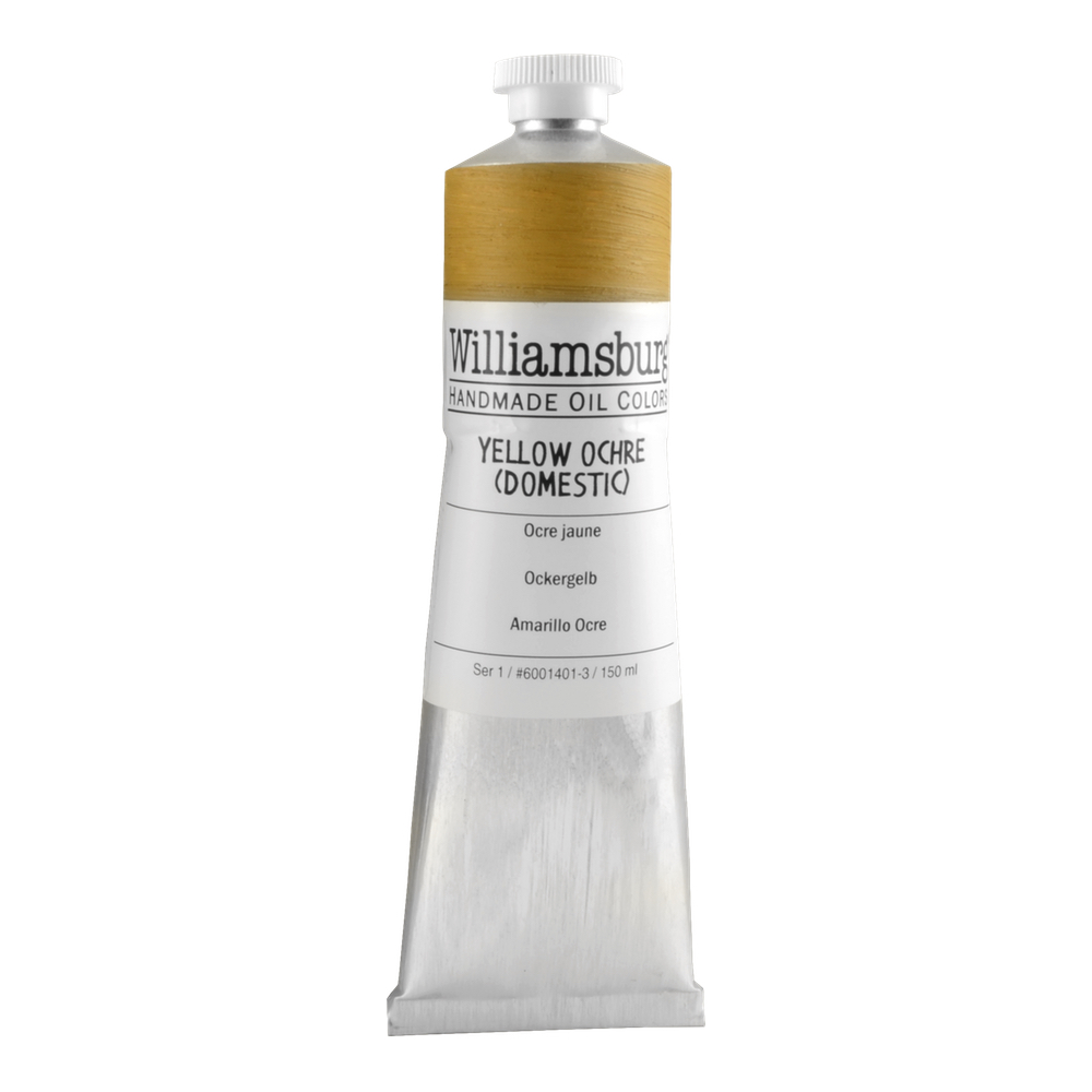 Williamsburg Oil 150Ml Yellow Ochre