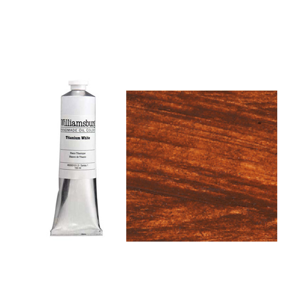 Williamsburg Oil 150Ml Burnt Sienna