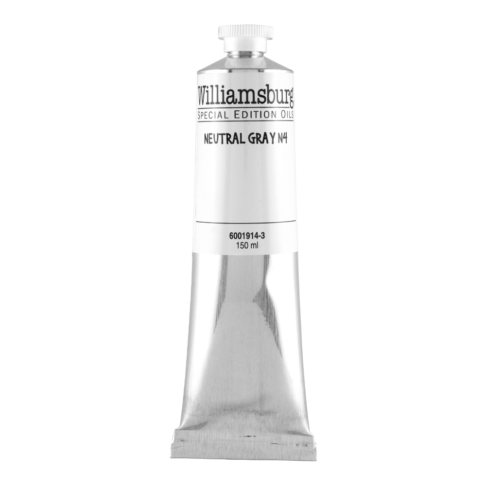 Williamsburg Oil 150Ml Neutral Gray 4