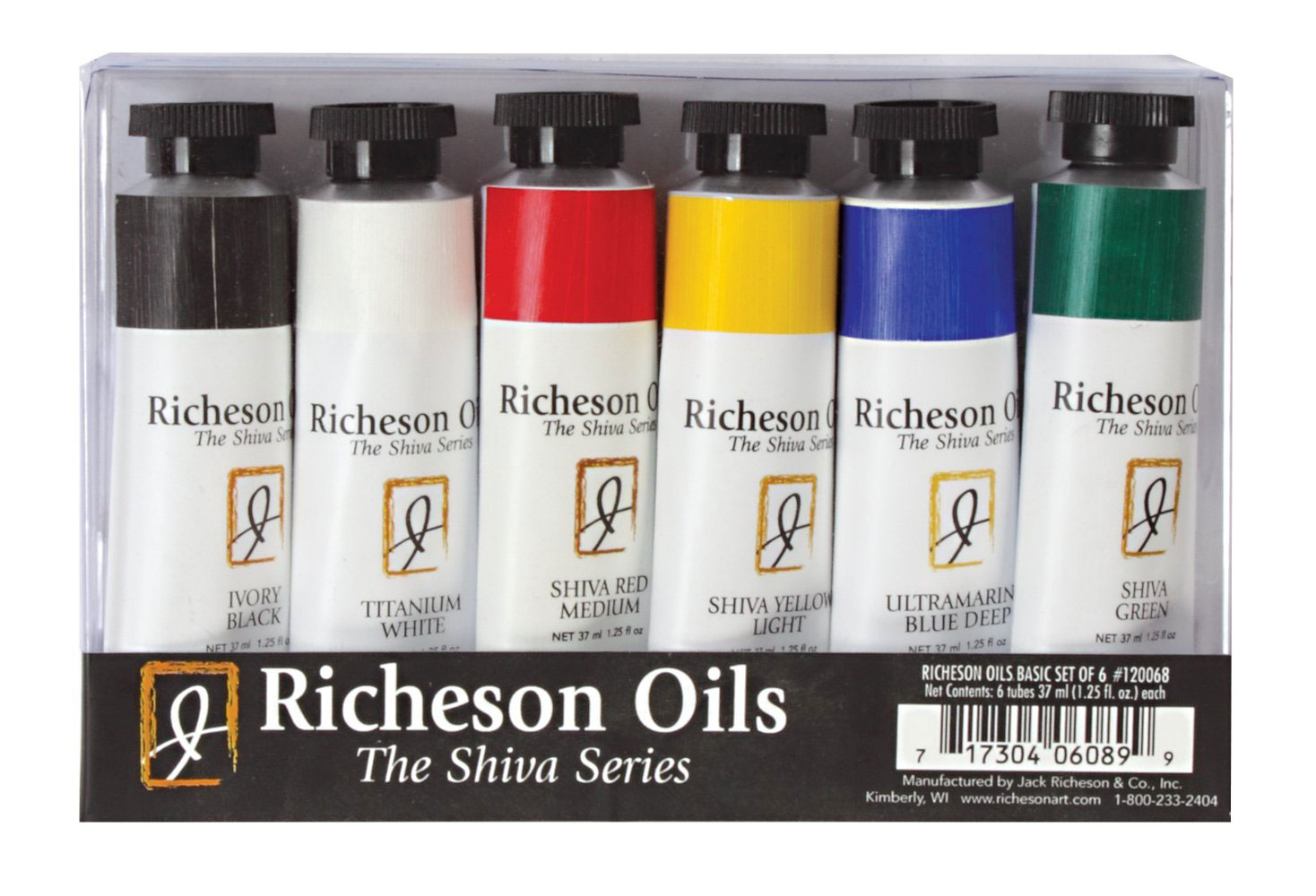 Richeson Oils Basic Signature Set/6 Tubes