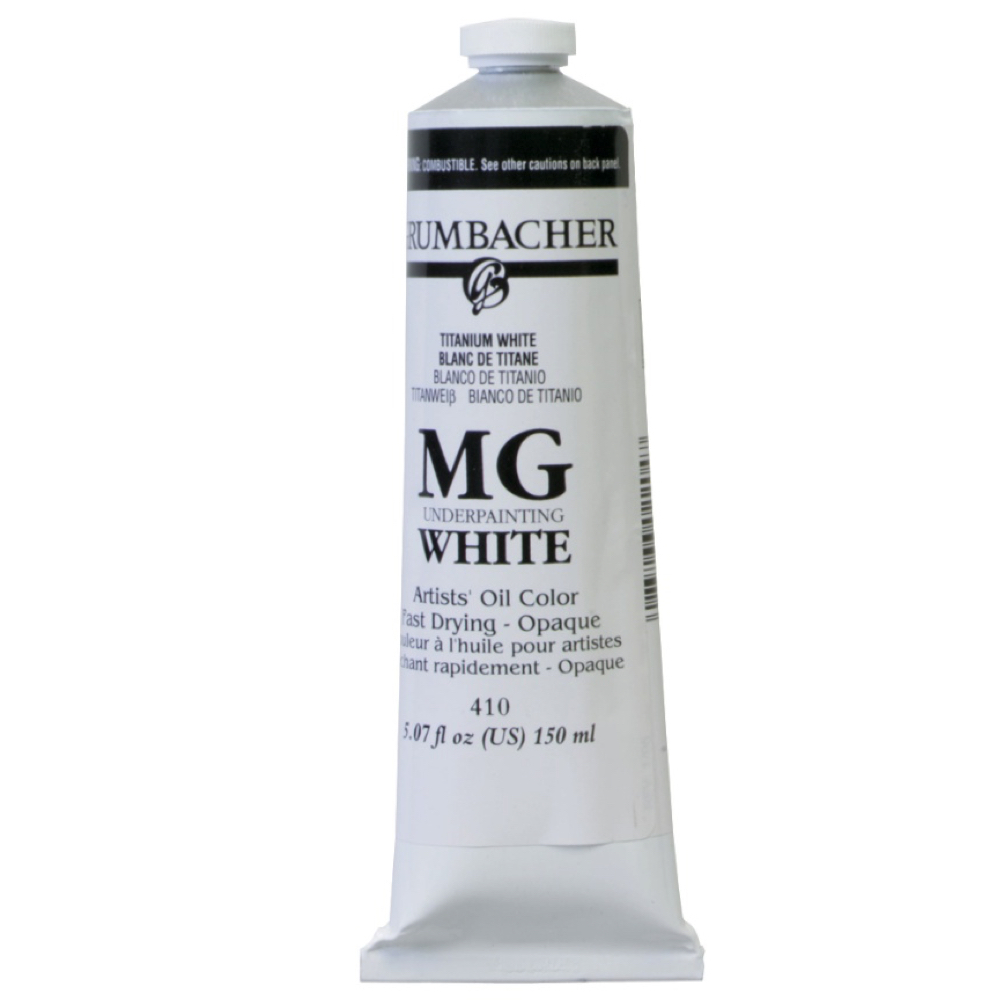Grumbacher Mg White Oil 150Ml