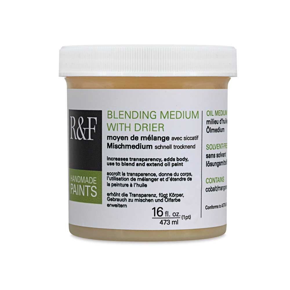R&F 16 Oz Blending Medium W/Drier