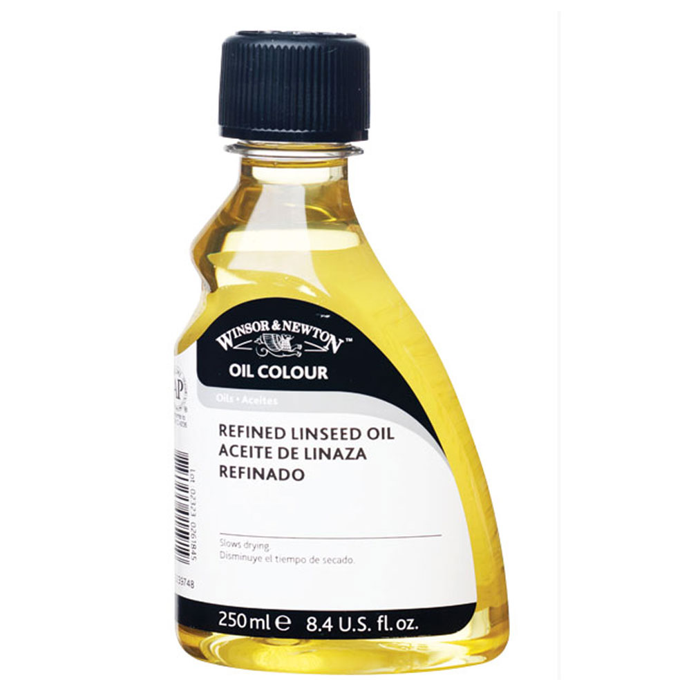 W&N Refined Linseed Oil 250Ml