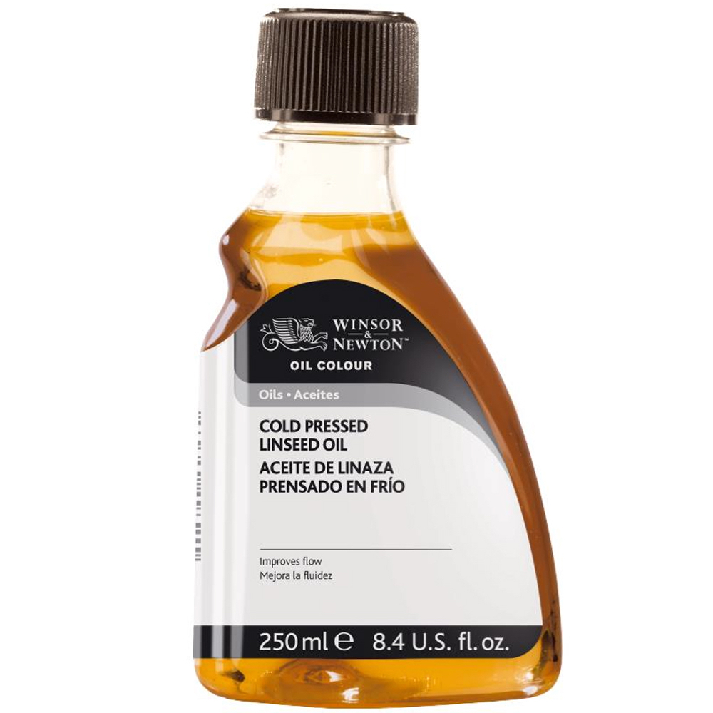 W&N Coldpress Linseed Oil 250Ml