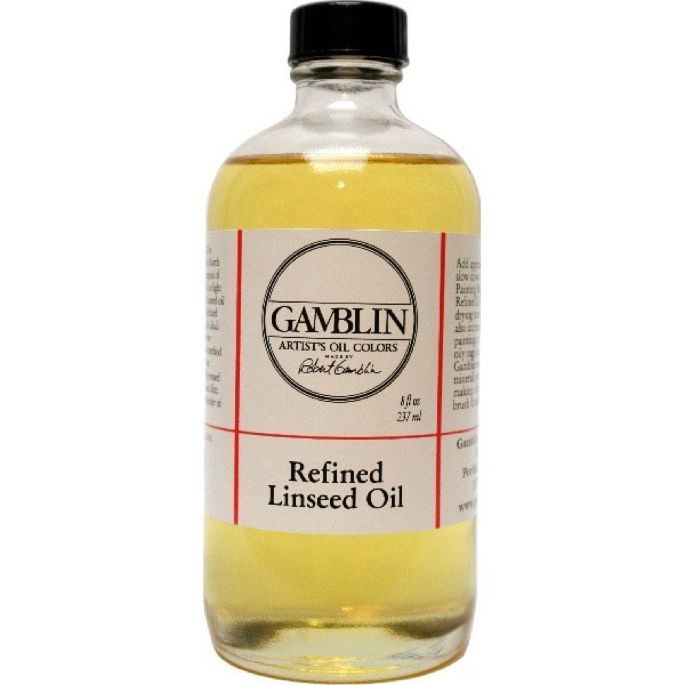 Gamblin Refined Linseed 8 Oz