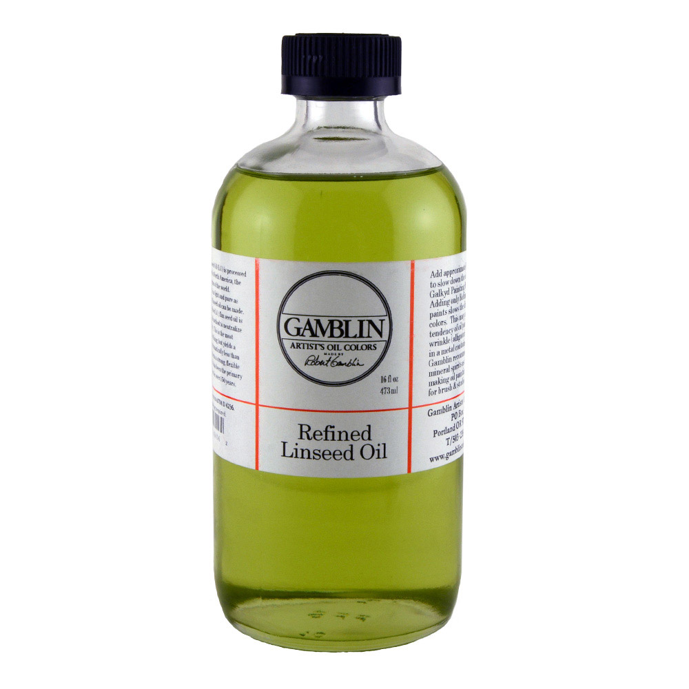 Gamblin Refined Linseed 16 Oz