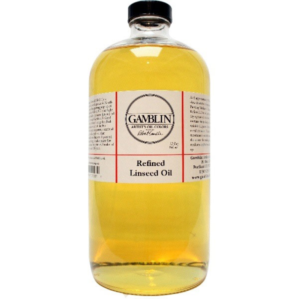Gamblin Refined Linseed 32 Oz