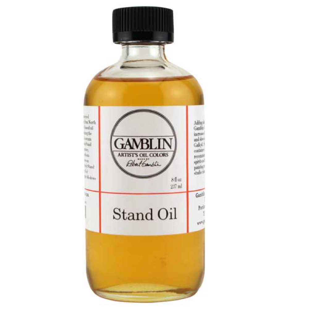 Gamblin Stand Linseed Oil 8 Oz