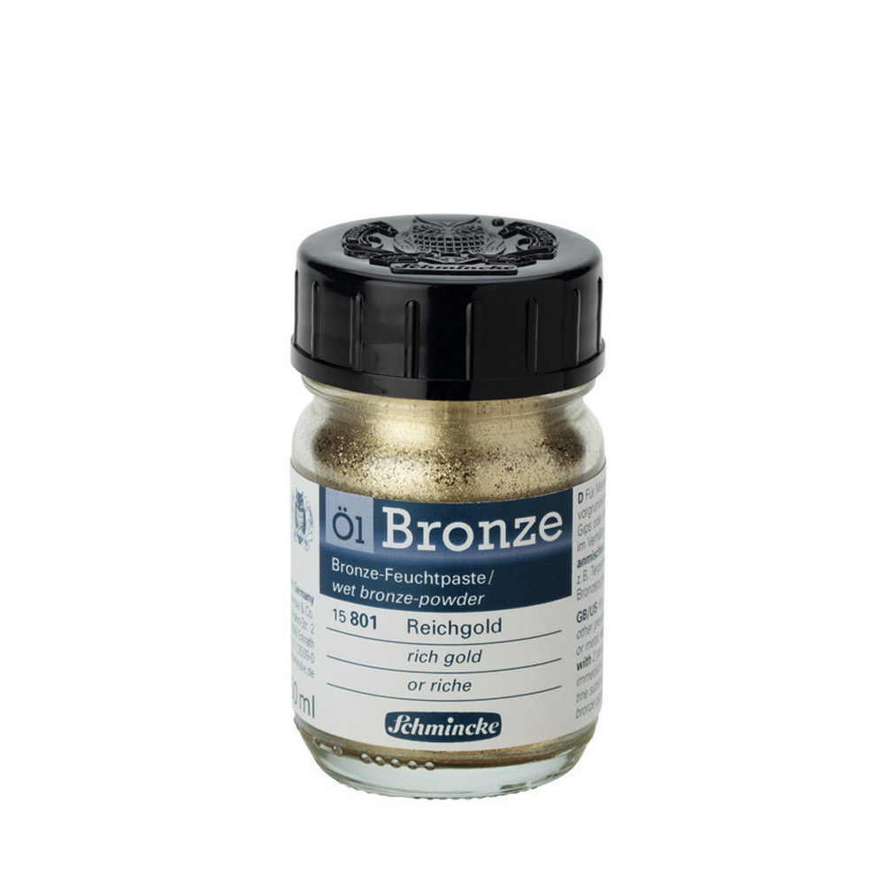 Schmincke Oil Bronze Rich Gold 50Ml