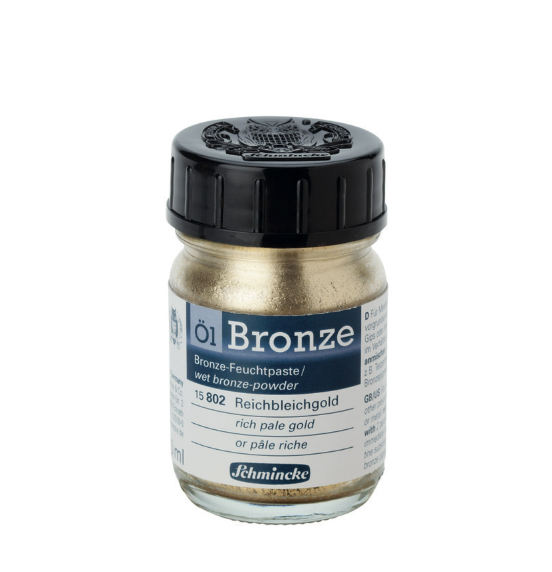 Schmincke Oil Bronze Rich Pale Gold 50Ml
