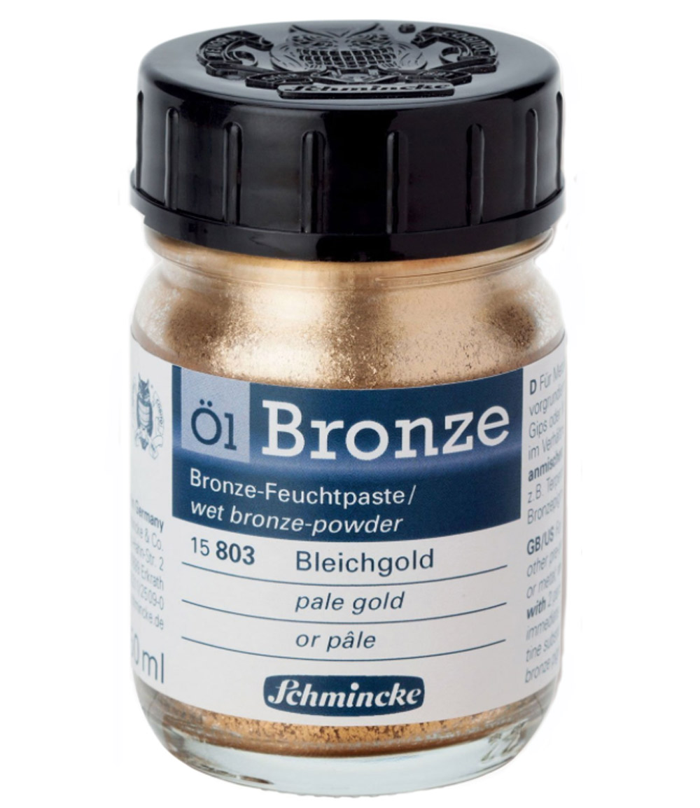 Schmincke Oil Bronze Pale Gold 50Ml