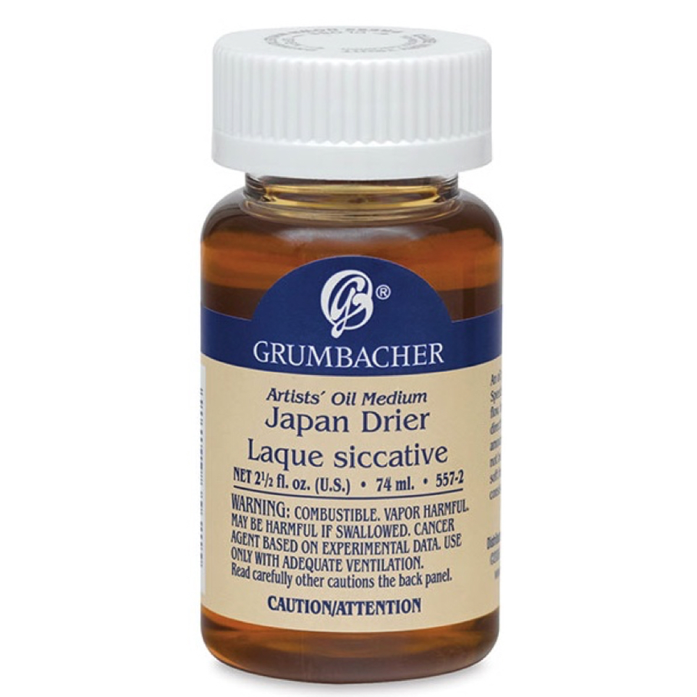 Grumbacher Japan Drier 2.5 Oz