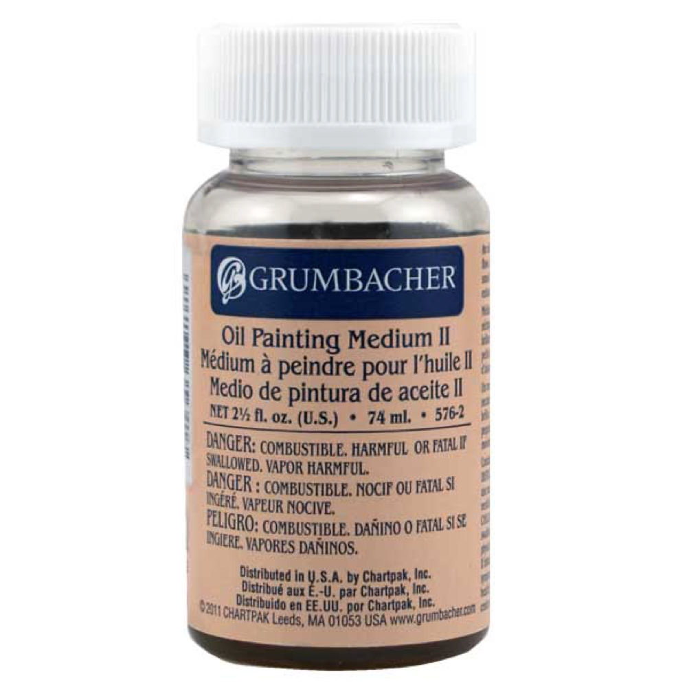 Grumbacher #2 Oil Painting Medium 2.5 Oz
